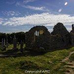 nearby church ruins