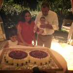 Battesimo Aurora...torta della festeggiata