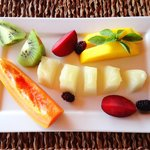 Fruits from breakfast