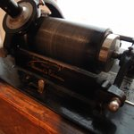 An Edison phonograph cylinder - you will get to hear it play music