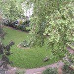 Habitación con vista al parque