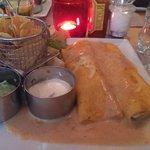 delicious cheesy chicken enchiladas