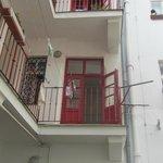 Block of apartments.