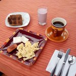 El desayuno buffet