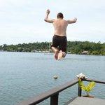 balcony jumping