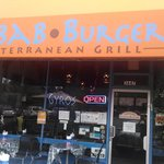 Kabab•Burger Front Entrance