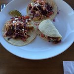 The fish tacos.
