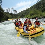 Rafting on the Tuolumne River