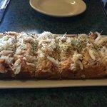 Cheesy crabby bread!!!!