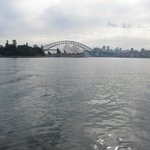 View from the Ferry going to the Taronga Zoo