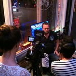 Interview with CNBC, they marked CC café as the best live music venue of Amsterdam