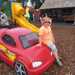 fun in the outdoor playpark