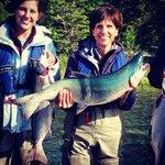 Mama Wop Captures Largest Salmon