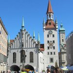 The Munich Old City Hall (Rathaus).