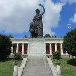 Statue of Bavaria.