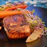 Le saumon grillé