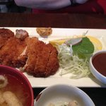 Tonkatsu fried pork cutlet