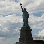 Statue of Liberty via the boat cruise