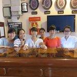 The wonderful girls at the Nhi Nhi Hotel