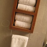 Nice towels at the LeMeridien in NYC