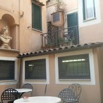 Dining patio