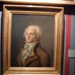 Retrato de Maximiliano Robespierre.