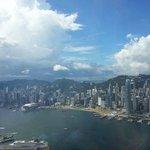 HK island and habour