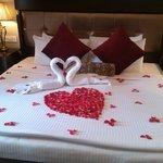 honeymoon arrangment