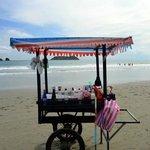 Playa Manuel Antonio Snow Cone Cart