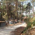 Road to small town - Nagarkot