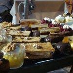 Plateau choix des desserts!