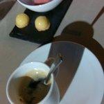 Café avec mignardises