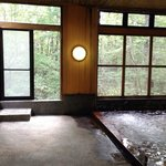 Natural-style onsen, women's side