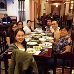 dinner at Gerarda with family.