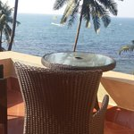 Private terrace adjoining our room