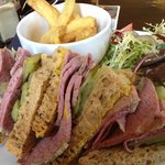 The Salt beef sandwich is amazing!