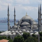 Blue Mosque - A view from the roof top terrace