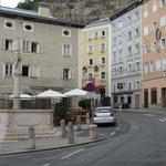 Street scape Salzburg