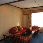 Living room (doorway to bedroom on the left)