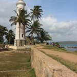 Galle Fort, Lighthouse. Only a short tuk-tuk ride away