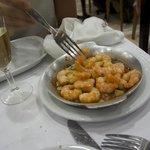 Garlic shrimps