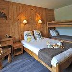 Chambre 4 personnes lit double hiver 2015