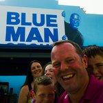 At Blue Man