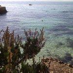 la plage aux allures de crique sauvage