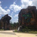 Outside Lagenda Park