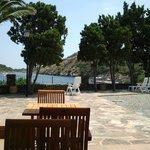 Vistas desde la terraza de la piscina