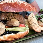 Burger truffes et foie gras