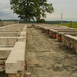 The footings of the prison block