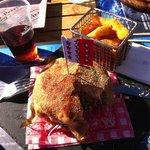 Le hamburger de veau à la cabane