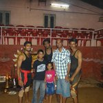 WIth Real fighters After the martial arts show